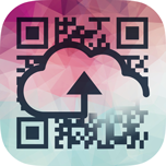 Cloud QR ikon