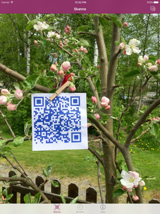 Screenshot of Cloud QR Scanner